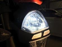 モンスター1100エボAutofeel LEDヘッドランプバルブ H7の全体画像