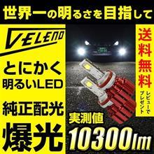 ノアREIZ TRADING VELENO LEDヘッドライト 10300lmの単体画像
