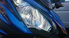 NINJA650Sphere Light RIZING2 H7 6000kの全体画像
