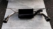 コルト三菱自動車(純正) DOP 4WD用 2本出し マフラーの単体画像