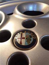 フィアット500 (ハッチバック)アルファロメオ純正 145用ホイールの全体画像