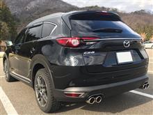 CX-8AutoExe Premium Tail Mufflerの全体画像