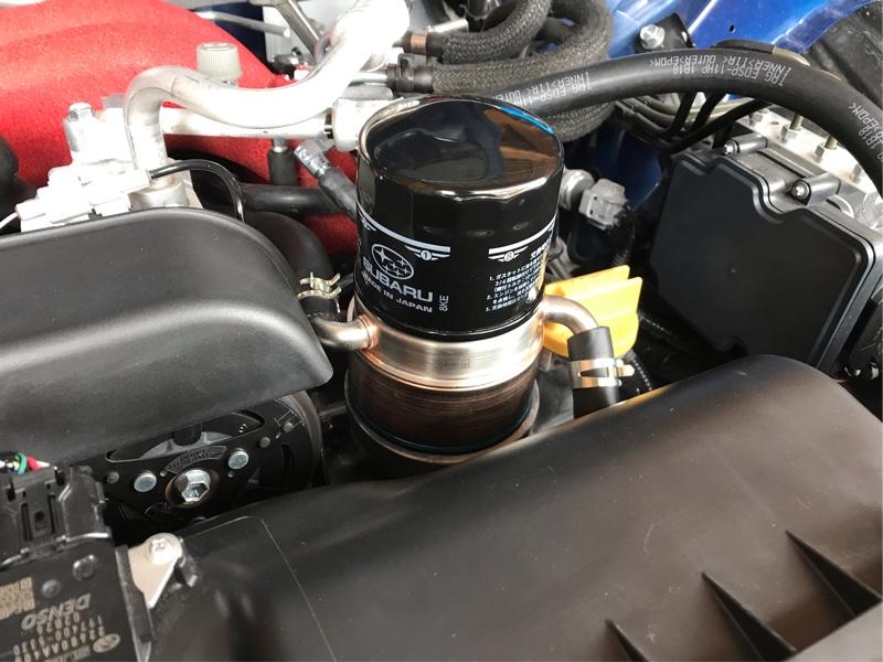 CUSCO 水冷式エンジンオイルクーラー