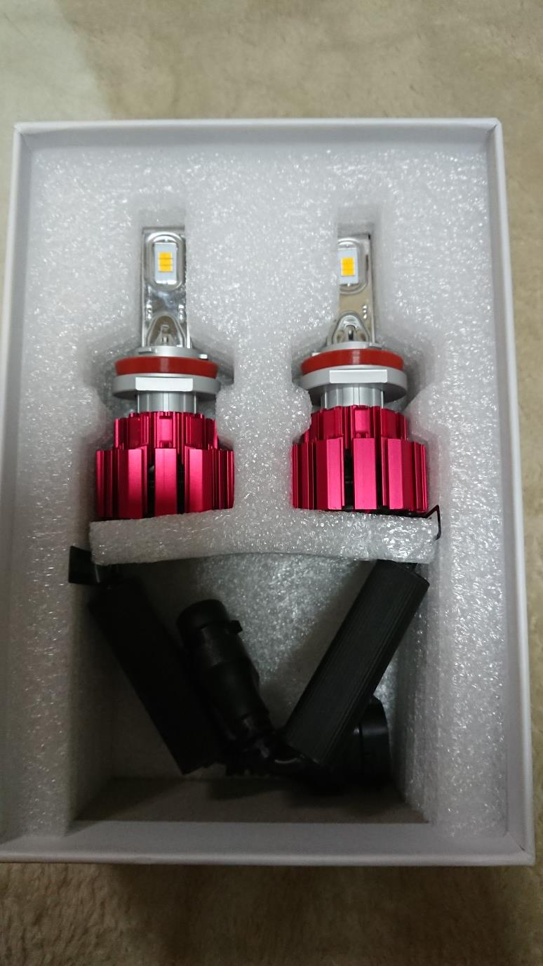 VELENO  H8 H11 H16 HB4 PSX24W PSX26W 6000lm LED フォグランプ イエロー
