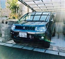 デリカD:5三菱自動車(純正) アクティブギア仕様 フロントバンパーエクステンションの全体画像
