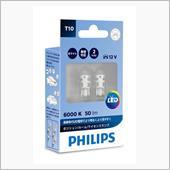 PHILIPS LED ポジション/ルーム/ライセンスランプ T10