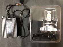リード110Sphere Light ミニバイク用LEDヘッドライト NEOL HS5型の全体画像