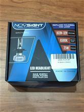 C3NOVSIGHT H7 LEDヘッドライト バルブの単体画像