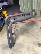 フォワードJfactory TX&消火器ダブルマフラーの全体画像