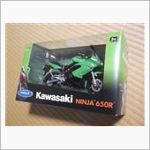 WELLY(ウィリー) Kawasaki Ninja650R 1/10スケールモデル
