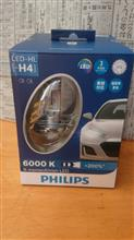 キャリイPHILIPS X-treme Ultinon LED H4 LED Headlight 6000Kの単体画像