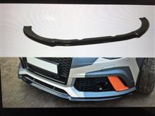 RS6アバント (ワゴン)メーカーわかりません フロントディフューザーの単体画像