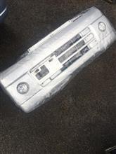 ミニキャブバン三菱自動車(純正) 普通のバンパーの単体画像