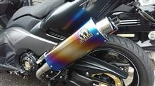 T-MAX530SP TADAO PURE SPORT TOW TAIL チタンブルーの全体画像