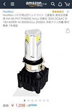 アドレスV100無名 大陸 LED ph7 ヘッドランプの単体画像
