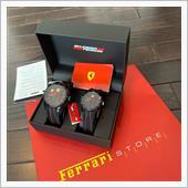 Scuderia Ferrari RED REV ペアウォッチ