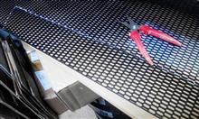 スイフトスポーツメーカー・ブランド不明 ABS樹脂 ハニカムメッシュネット黒 /グリルネット/エアロ加工/六角Cの単体画像