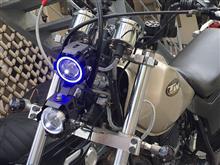 TW200EMOTOSTAR/AUDEW バイク用LEDヘッドライト プロジェクターの単体画像