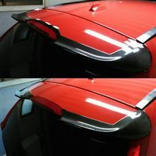 V60Just Deform カーボンルーフスポイラーの全体画像