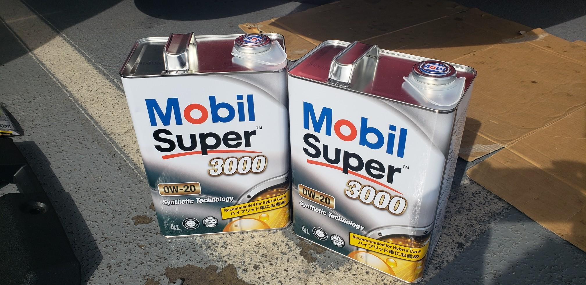Mobil Mobil Super 3000 0W-20