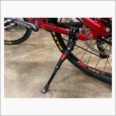 Oziral  スタンド キックスタンド 自転車携帯マルチツール付き Oziral 長さ調節可能 軽量 片足 アルミニウム合金製 24インチ~700C対応