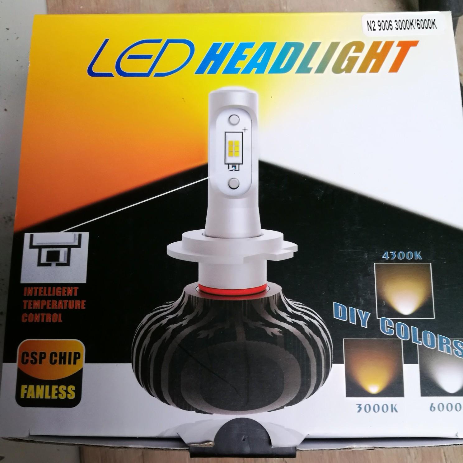 OPPLIGHT HB4 LED フォグランプ デュアルカラー