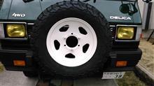 デリカスターワゴン三菱自動車(純正) 純正15inc鉄ホイールの単体画像