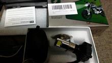 CL50RTD 3面発光 LED ヘッドライト バイク用 3000LM H4 PH7 PH8 H6 対応 変換アダプター付属 直流式/交流式 兼用 の単体画像