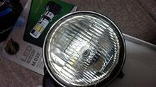 ソロRTD 6面発光 LED ヘッドライト バイク用 3500LM H4 PH7 PH8 H6 対応 変換アダプター付属 直流式/交流式 兼用 の全体画像
