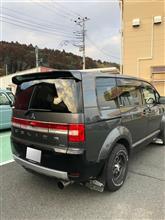 デリカD:5三菱自動車(純正) 新型デリカ テールゲートスポイラーの単体画像