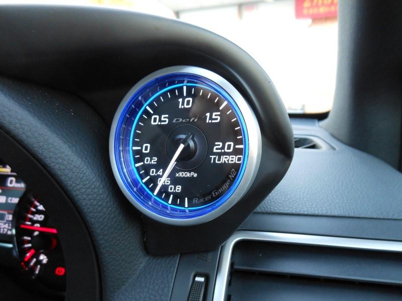 Defi Racer Gauge N2 ターボ計