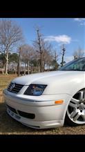 ボーラ北米VW純正 フロントバンパーモール  GLI仕様フロントアンダースポイラーの単体画像