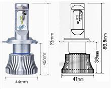 セロー250Sphere Light RIZINGⅡ(H4Hi/Lo 4500K)の全体画像