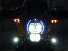 ヴェルシス? H7 ヒートリボン式 LEDヘッドライト の単体画像