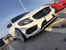 Cクラス ステーションワゴンメルセデス・ベンツ(純正) AMGフロントスポイラーの全体画像