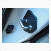 Negesu スバル ドア ストライカー カバー カーボン黒 / ストッパーカバー 黒