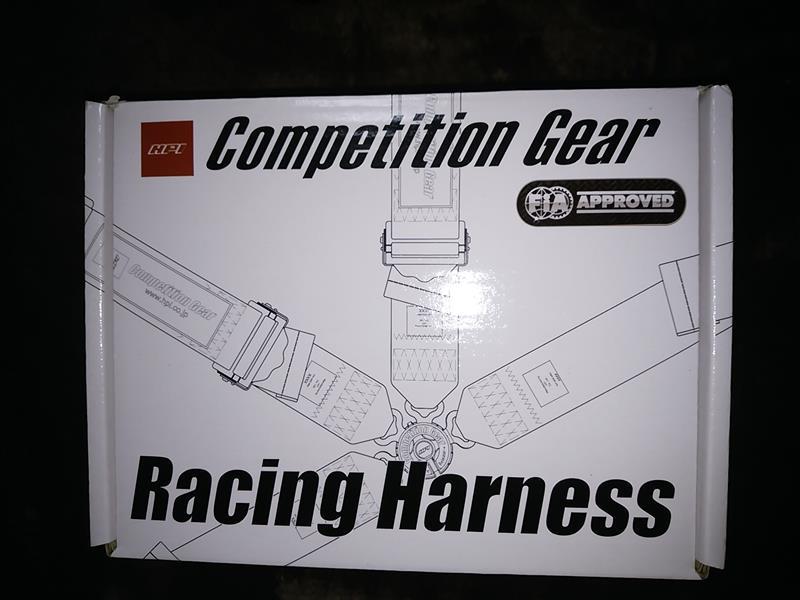 HPI レーシングハーネス4点式
