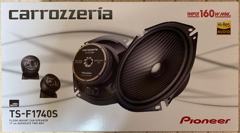 [PIONEER / carrozzeria] TS-F1740S