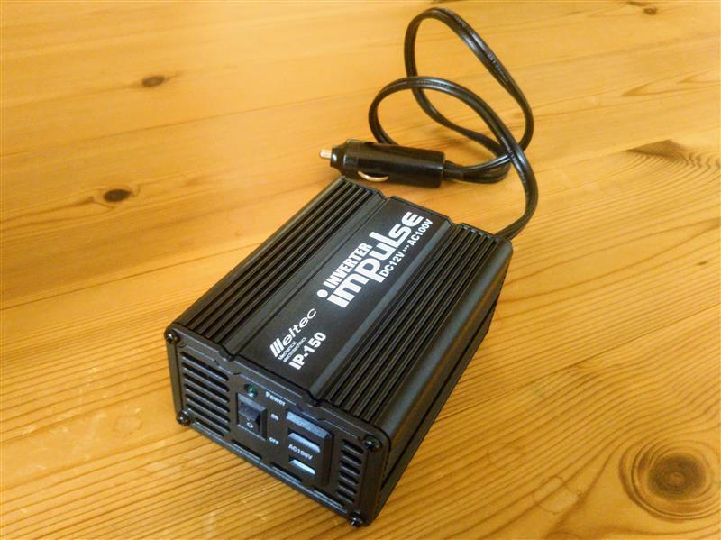 Meltec / 大自工業 大地震に備えよう エンジンを発電機に インバーター / IP-150