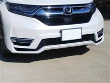CR-VハイブリッドModulo / Honda Access エアロバンパー フロントの単体画像