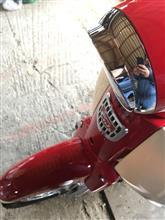 スーパーカブ110_JA44ホンダ(純正) ヘッドライトリムの単体画像