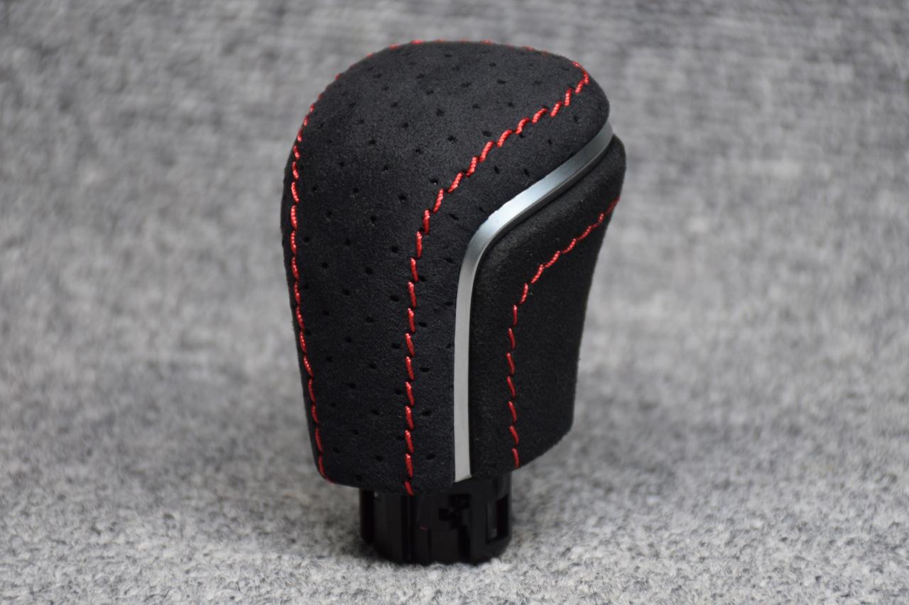 Leather Custom FIRST カローラスポーツシフトノブ全面本革巻き加工