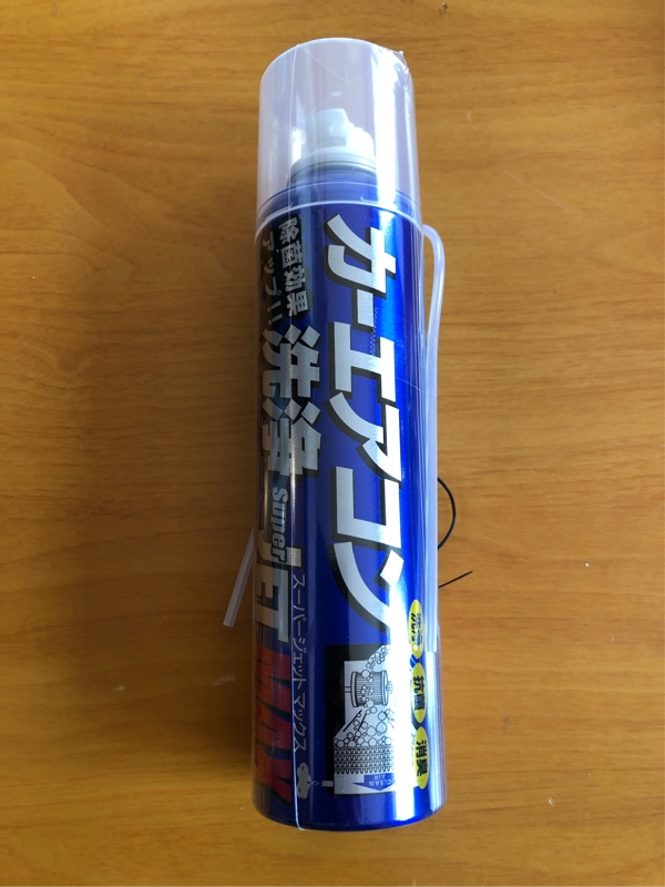 ZAC JAPAN スーパージェットマックス (カーエアコン洗浄)