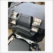 G IV I トップケース/リアボックス用バックレスト E157 OBK42A B専用