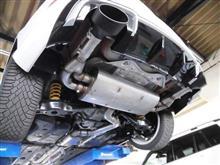 RS3(セダン)Milltek Sport Audi RS3 Sedan Cat Back (Rasonated) Black Oval Tipsの単体画像