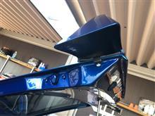 240Z不明 リアスポイラーの全体画像