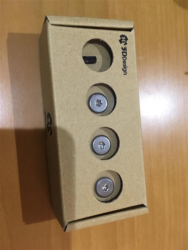 3D Design ライセンスプレートボルト