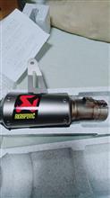GSX-R1000RAKRAPOVIC Slip-on exhust systemの単体画像