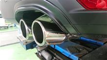 CX-8AutoExe スポーツマフラーの全体画像