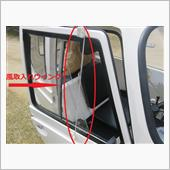 タケオカ自動車工芸(純正) ドア風取り入れウイング